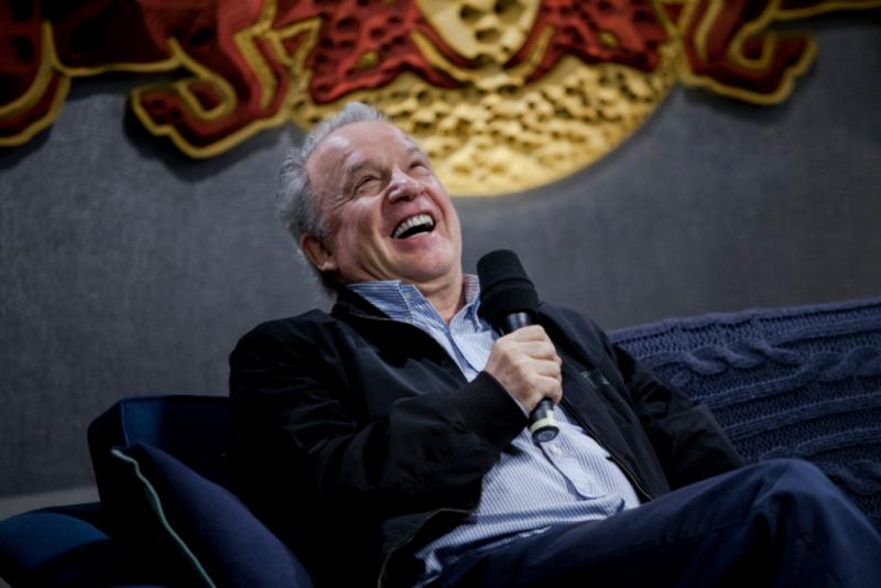 Giorgio Moroder erklärt dem Nachwuchs die Branche, die er kennt