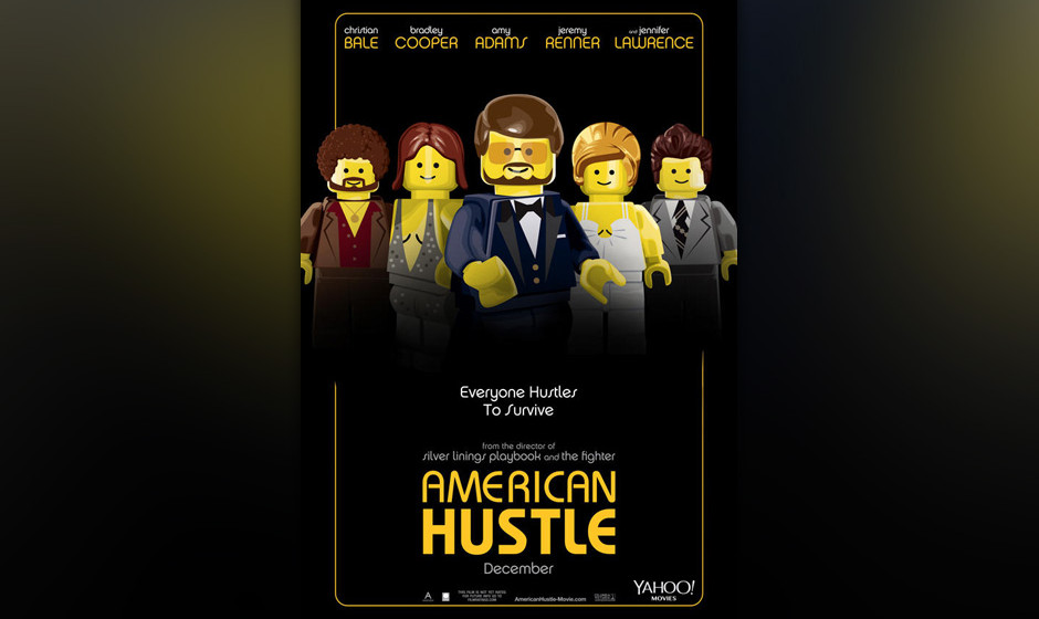 'American Hustle' als Lego-Version