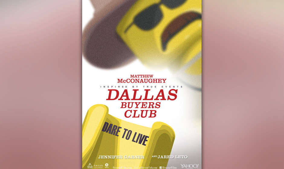 'Dallas Buyers Club' als Lego-Version