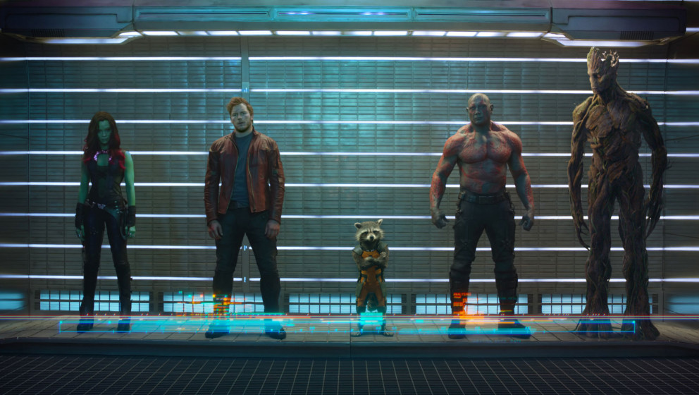 "Stehen in den Startlöchern: ""Guardians Of The Galaxy"""