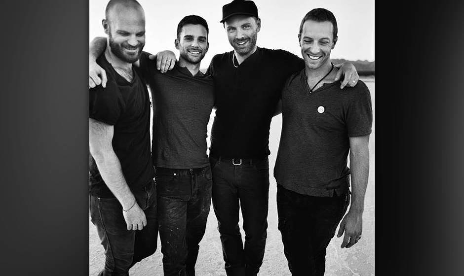 5. Coldplay - 64 Mio. Dollar