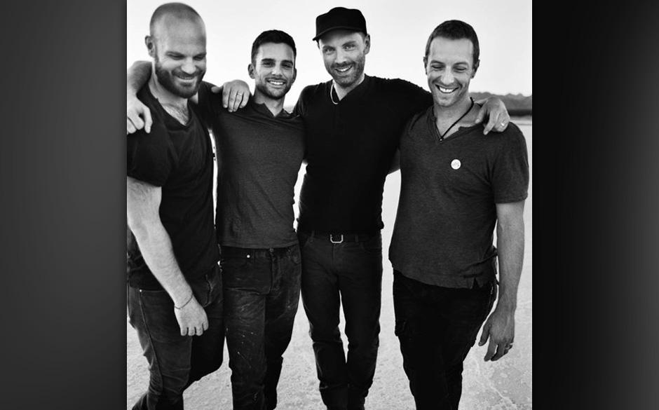 5. Coldplay - 64 Mio. Dollar