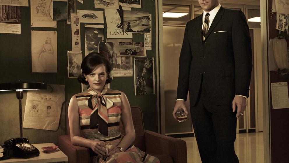 Erhält ordentlich Nachhilfe in Sachen Gleichberechtigung: Peggys Boss Don Draper (Jon Hamm)