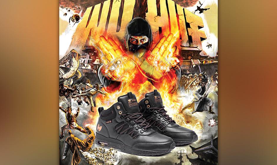 "HUF x Wu-Tang Clan – ""Enter the Wu-Tang: 36 Chambers: Eine Kollektion aus Sneaker, Shirt und Cap"