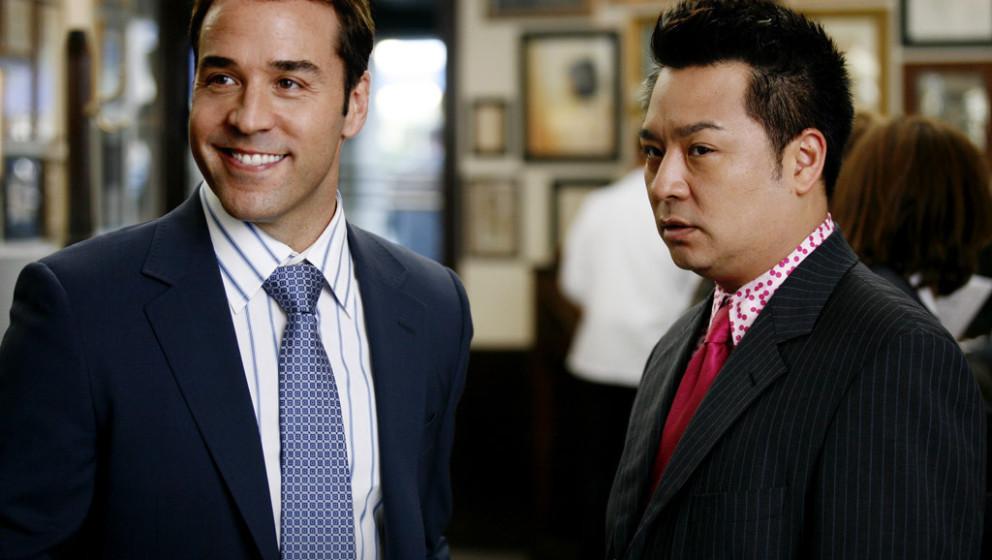 Agent Ari Gold (links) mit seinem Assistenen Lloyd Lee in der Serienfassung von 'Entourage'