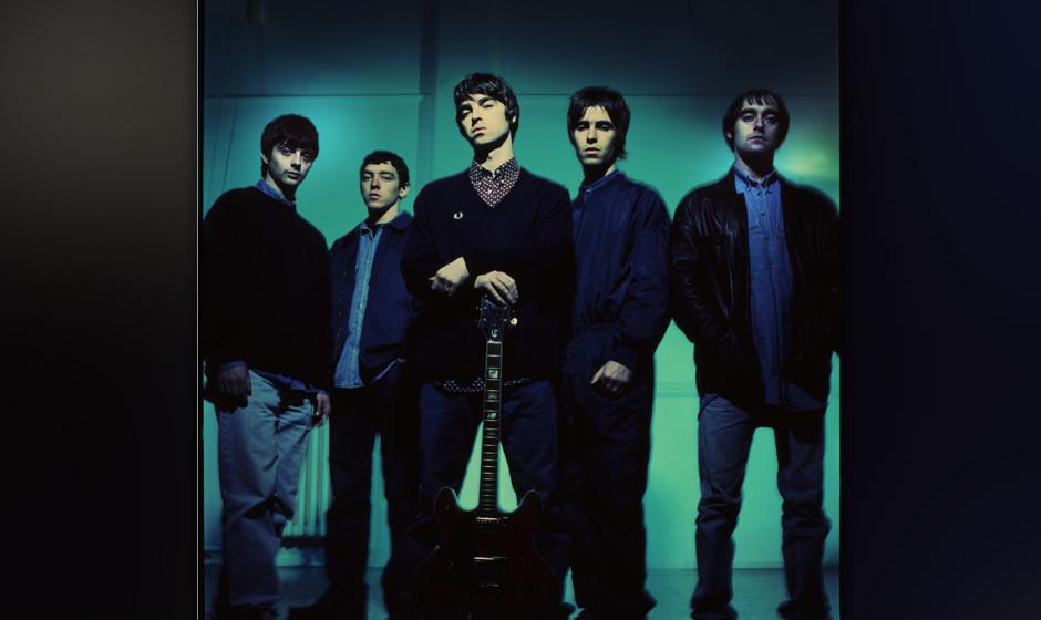 Oasis legen ihre ersten drei Alben...