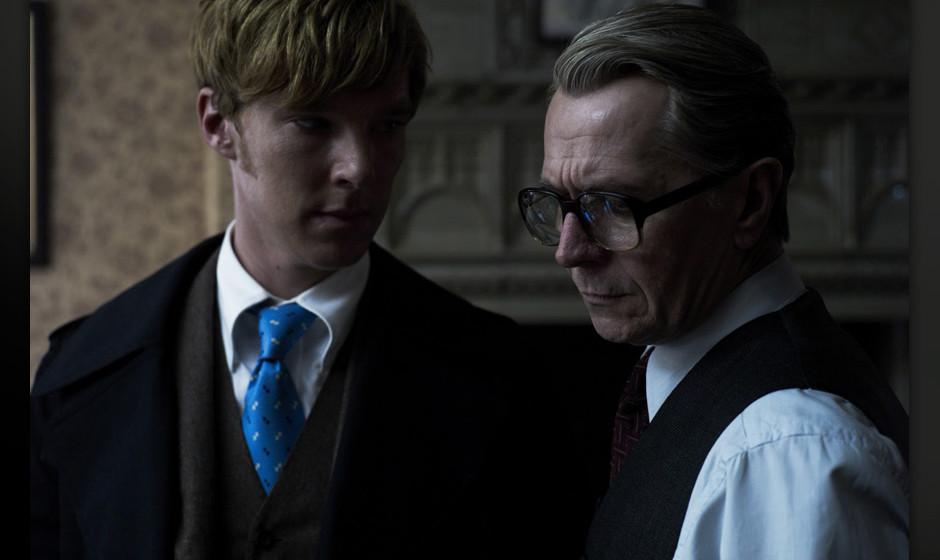 Bald gemeinsam im neuen 'Star Wars'-Film? Benedict Cumberbatch und Gary Oldman (hier zu sehen im Thriller 'Dame, König, As,