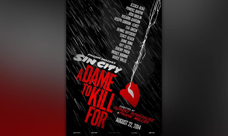 Das Teaser-Poster zum neuen 'Sin City'-Film