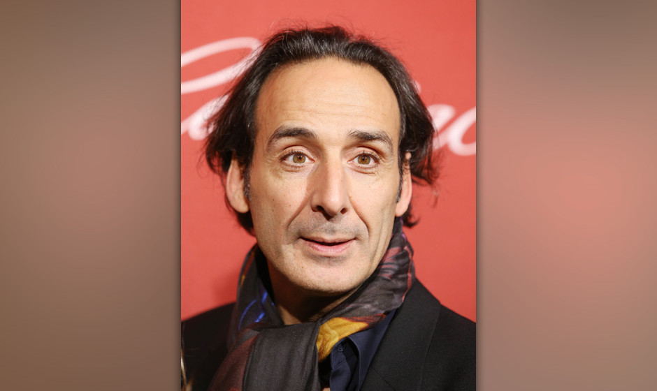 BEVERLY HILLS, CA - FEBRUARY 10:  Alexandre Desplat arrives at The Hollywood Reporter's Annual Nominees Night party held at S