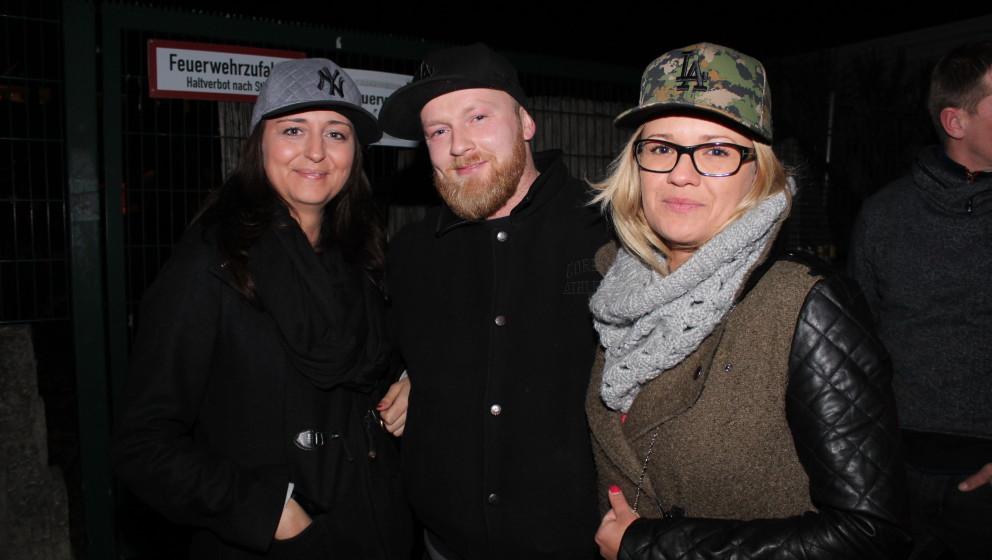 Natalie (34, Büroangestellte), Patrick (34, Selbstständiger) und Christiane (30, Buchhalterin): 'Wir hören Sido, weil wir