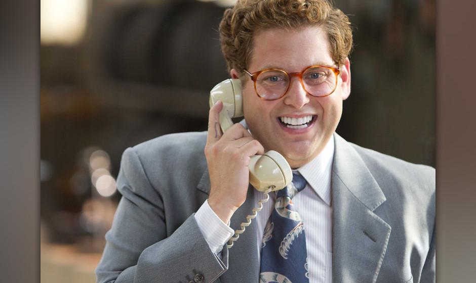 """Dr.-Best-Sonderpreis für die weißeste Zahnreihe: Jonah Hill in """"The Wolf Of Wall Street""""."""
