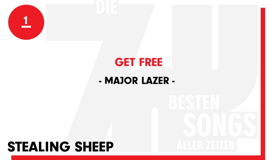 1. Major Lazer - 'Get Free'