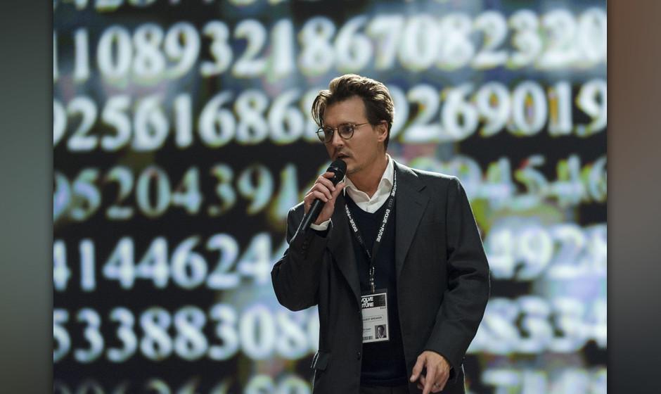 Johnny Depp spielt den Wissenschaftler Dr. Will Caster