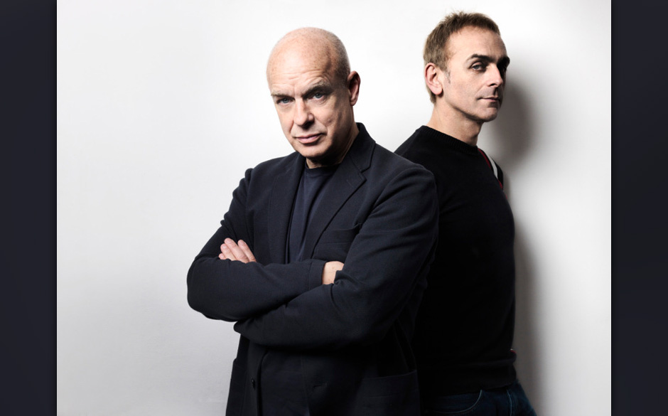 Brian Eno und Karl Hyde veröffentlichen am 02. Mai 2014 ein...
