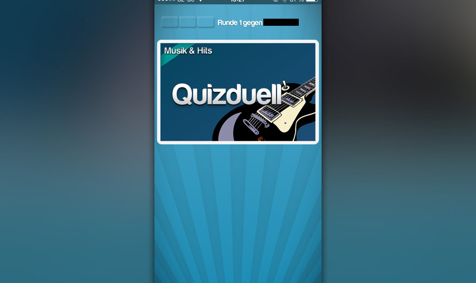 'Musik & Hits' beim 'Quizduell'