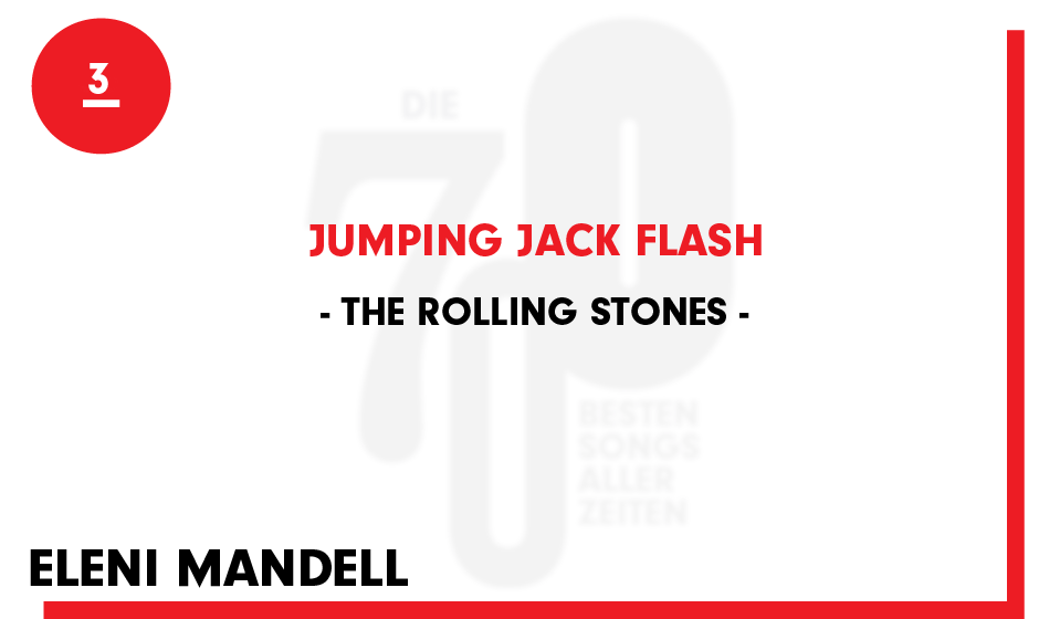 3. The Rolling Stones - 'Jumping Jack Flash'