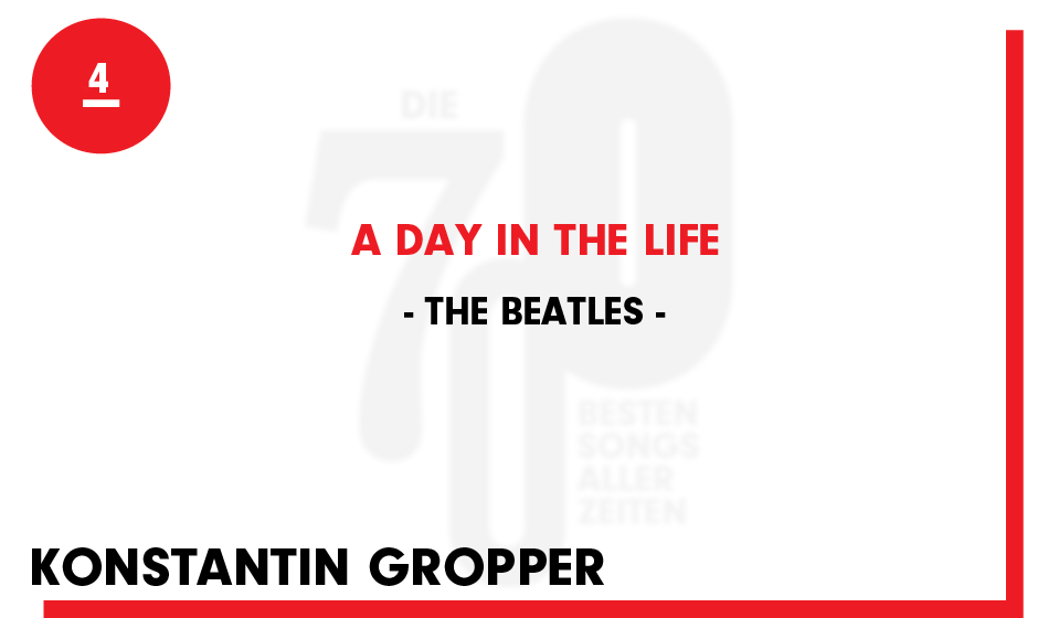 4. The Beatles - 'A Day In The Life'