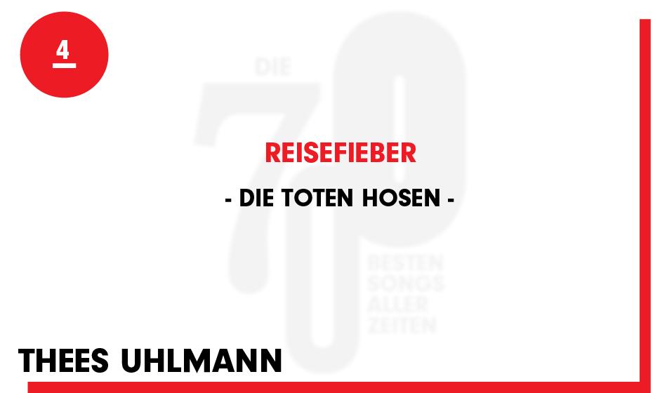4. Die Toten Hosen - 'Reisefieber'