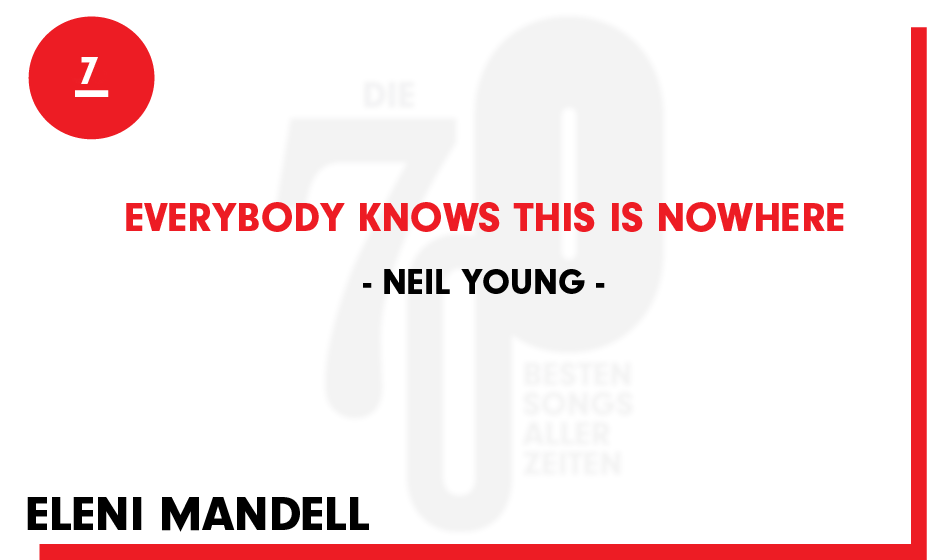 7. Neil Young - 'Everybody Knows This Is Nowhere'