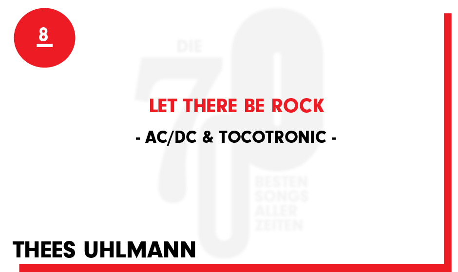8. AC/DC & Tocotronic - 'Let There Be Rock'