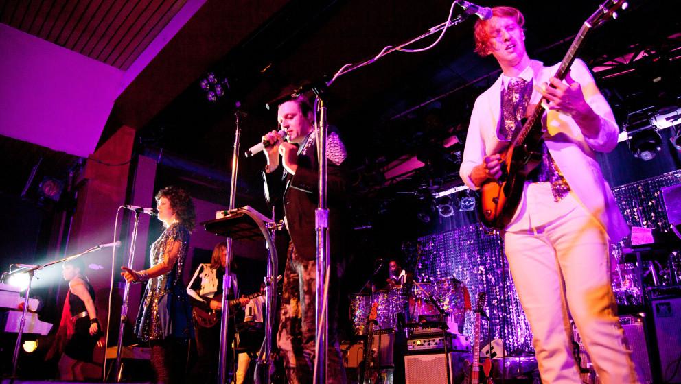 Arcade Fire haben während eines Konzert in den USA...
