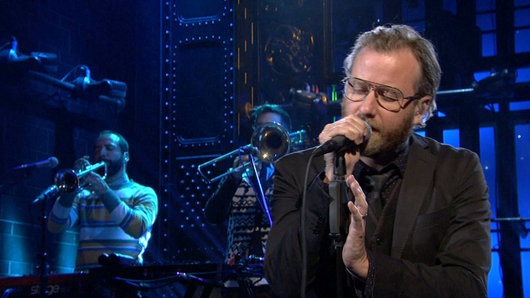 The National live bei 'Saturday Night Live'