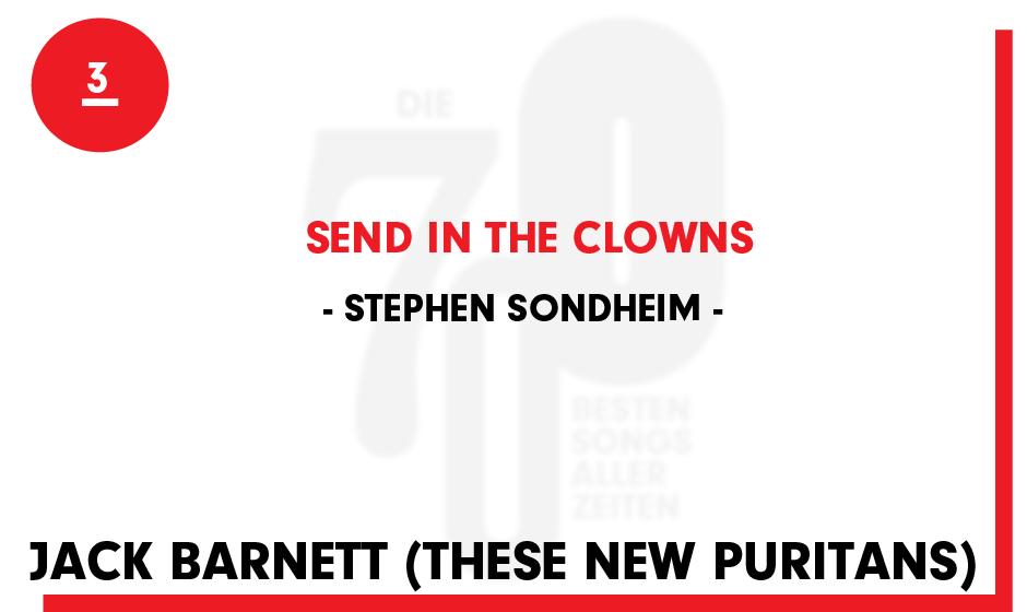 3. Stephen Sondheim - 'Send In The Clowns'