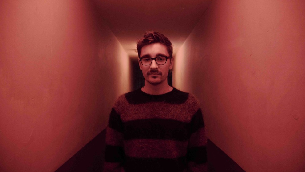 Gus Unger-Hamilton from the band Alt-J backstage at The O2 Academy Bristol before playing a sold out show. May 2013