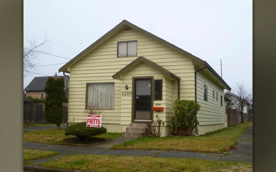 Das Elternhaus von Kurt Cobain, in dem er seine Kindheit verbrachte,...