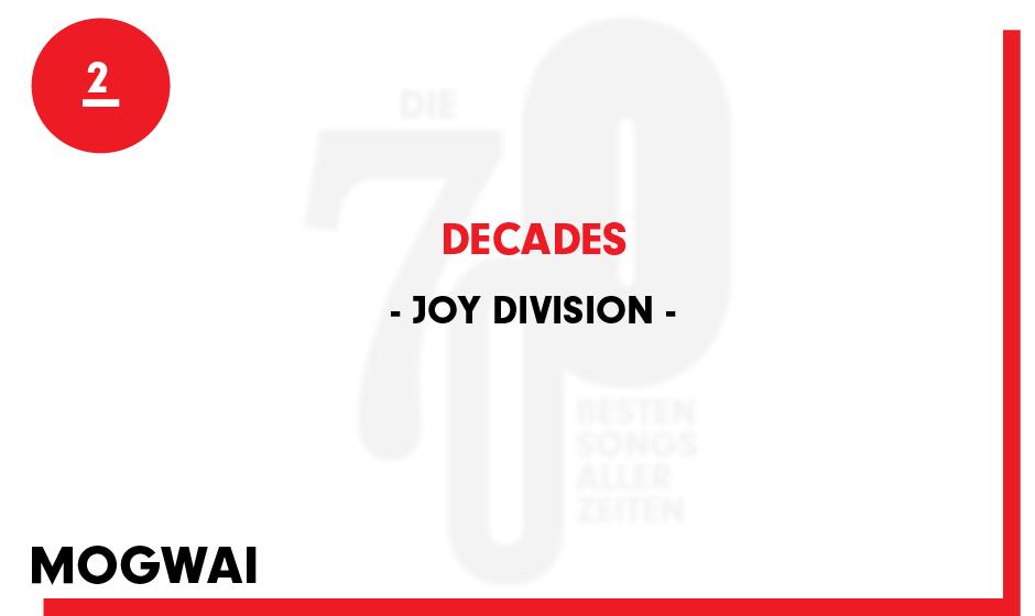 2. Joy Division - 'Decades'