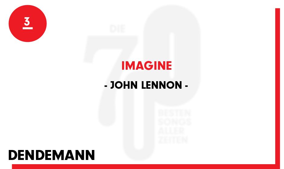 3. John Lennon - 'Imagine'