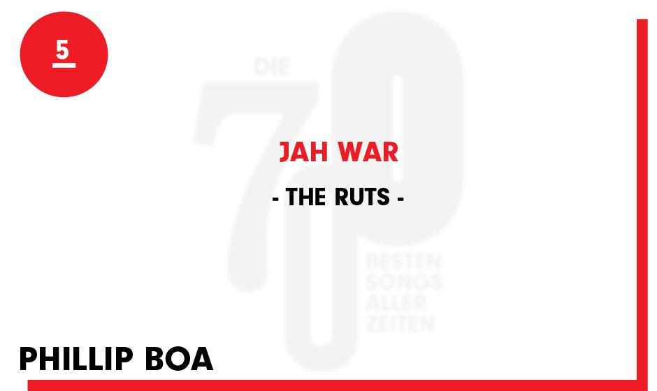 5. The Ruts - 'Jah War'