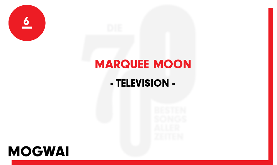6. Television - 'Marquee Moon'