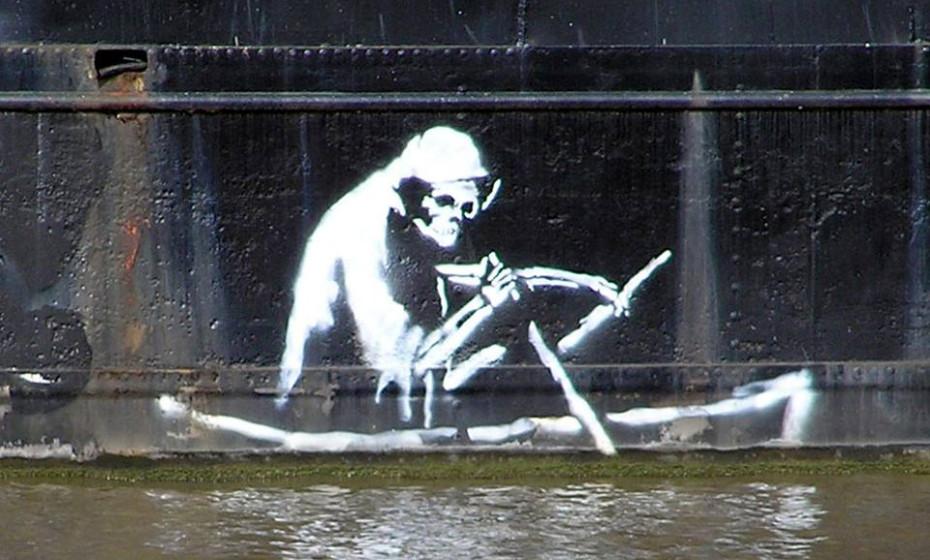 Streetartist Banksy unterstützt den Weltwassertag