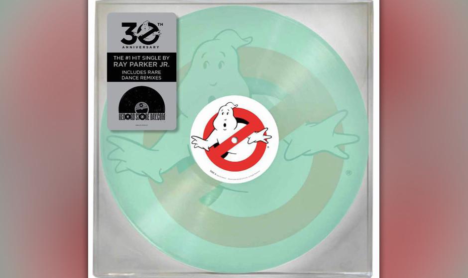 Der Titeltrack des ersten 'Ghostbusters'-Films erscheint zum 'Record Store Day 2014' als 14-inch-Vinyl und leuchtet im Dunkle