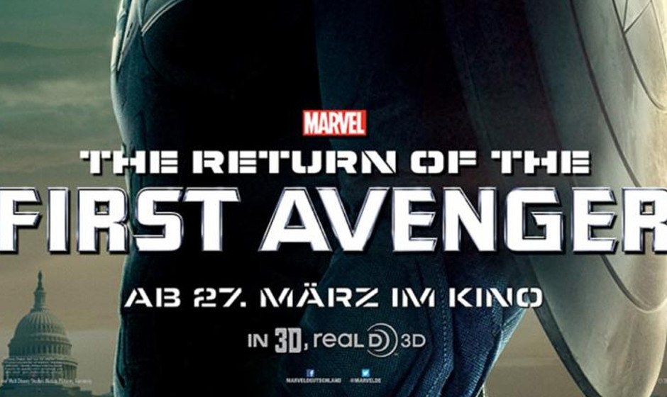 Ab Donnerstag, den 27. März 2014 im Kino: 'Captain America 2: The Return of The First Avenger'