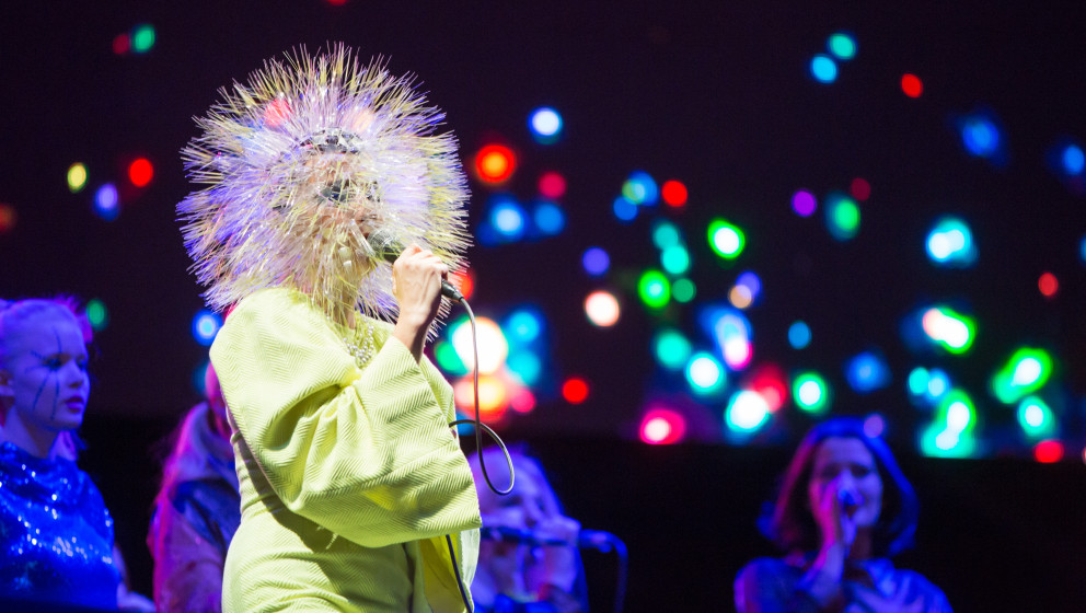 Last Gig on World Tour for Björk at the Berlin Festival 2013 - 7.9.2013
