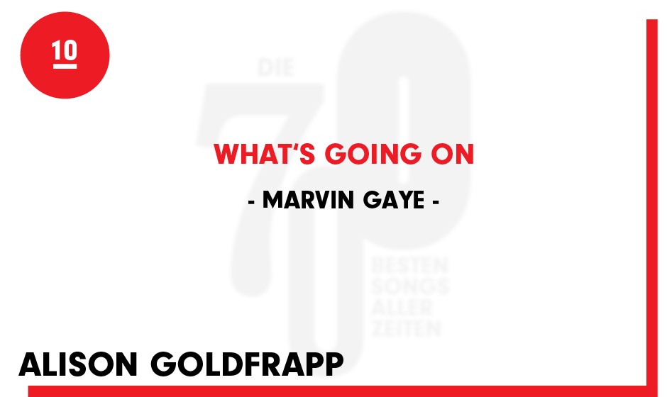 10. Marvin Gaye - 'What's Going On'