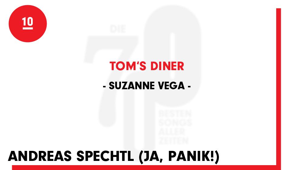 10. Suzanne Vega - 'Tom's Diner'