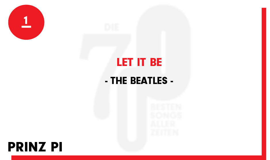 1. The Beatles - 'Let It Be'