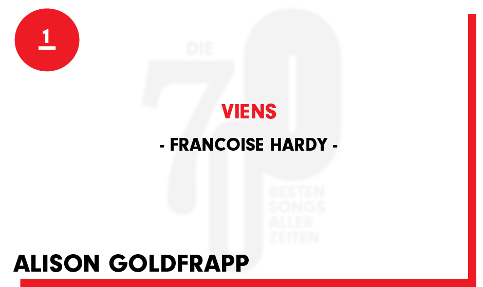 1. Francoise Hardy - 'Viens'