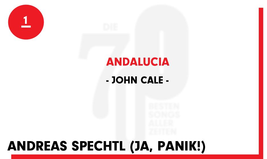 1. John Cale - 'Andalucia'