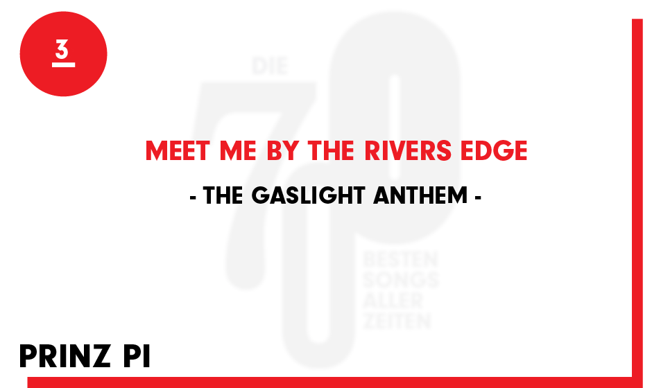 3. The Gaslight Anthem - 'Meet Me By The Rivers Edge'