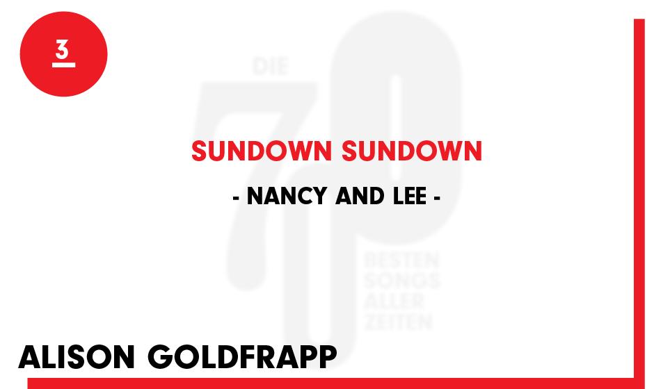 3. Nancy And Lee - 'Sundown Sundown'