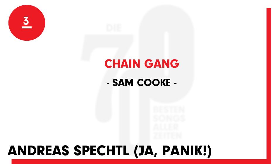 3. Sam Cooke - 'Chain Gang'