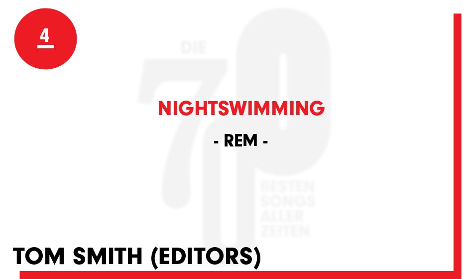 4. REM - 'Nightswimming'
