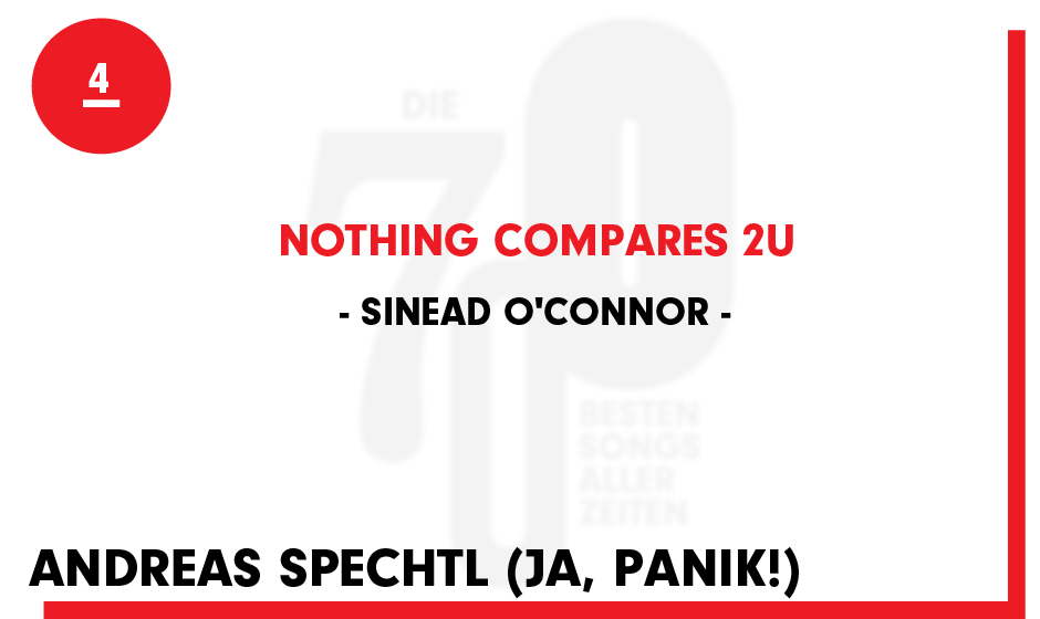 4. Sinead O'Connor - 'Nothing Compares 2 U'