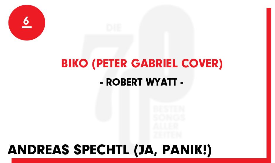 6. Robert Wyatt - 'Biko (Peter Gabriel Cover)'