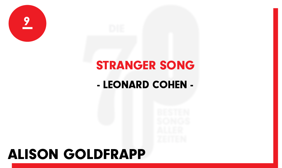 9. Leonard Cohen - 'Stranger Song'