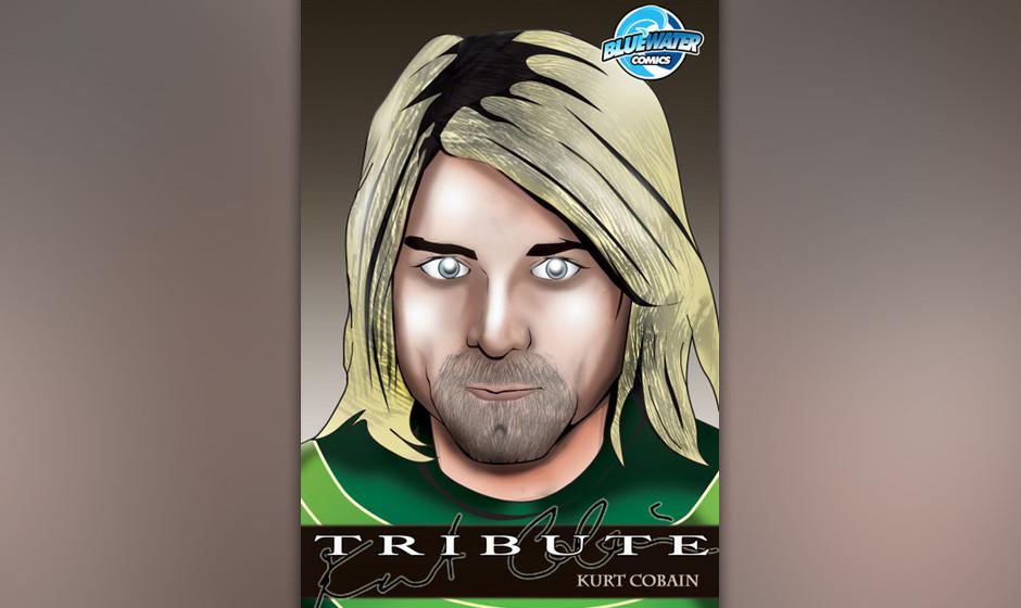 'Tribute to Kurt Cobain': Eine Comic-Biografie des Sängers...